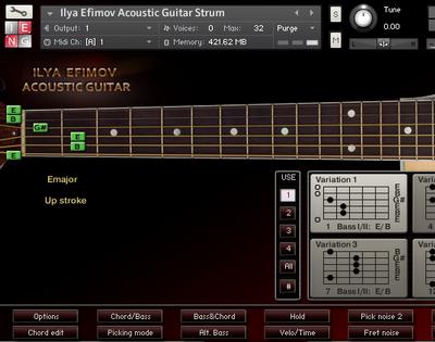 Ilya Efimov Acoustic Guitar Strum