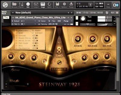 8Dio 1928 Steinway Piano