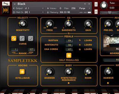 SampleTekk Black