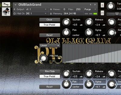 AcousticSamples OldBlackGrand
