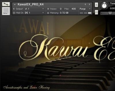 AcousticSamples Kawai EX PRO